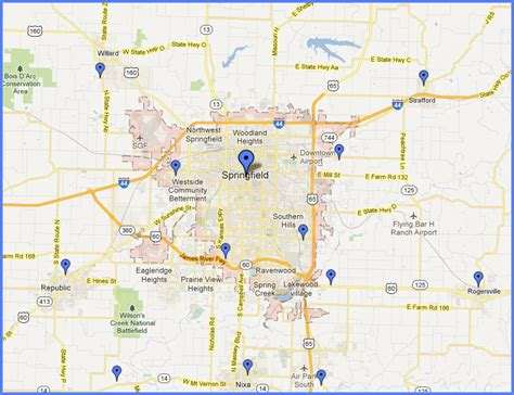 Continental Siding Supply Locations   Springfield, MO