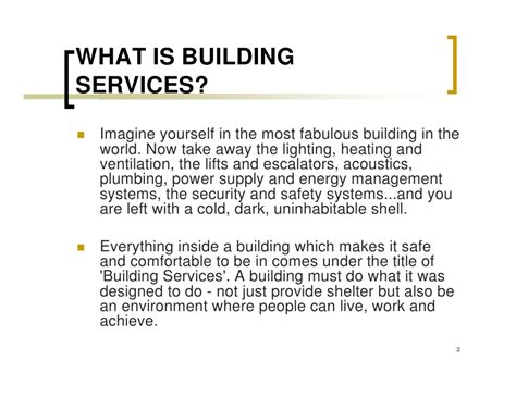 Defined Plumbing Services Introduction To Building Services