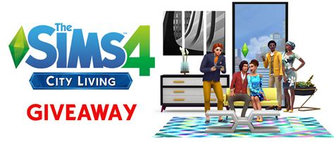 Sims 4 City Living Giveaway - simsvip giveaway win the sims 4 city living expansion pack simsvip