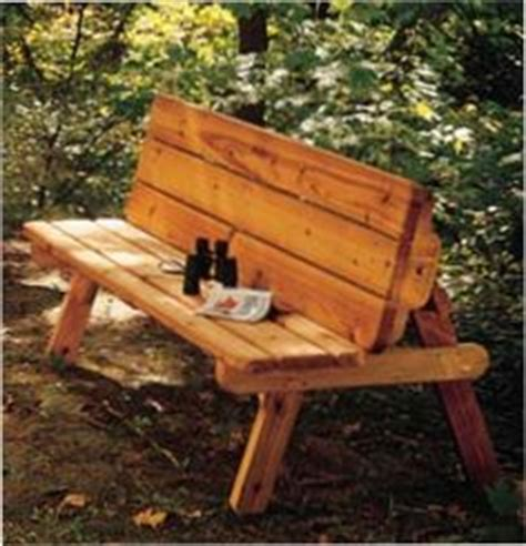 half picnic table bench 1000 images about diy tables benches and other outside