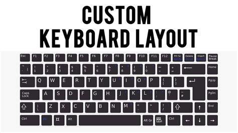 keyboard layout custom keyboard layout how to change on keyboard