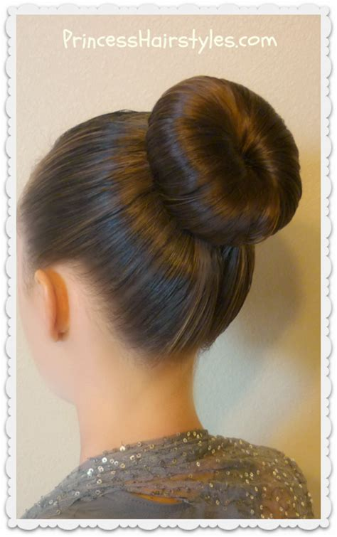 Hairstyle Bun by The Bun And No Heat Curls Tutorial