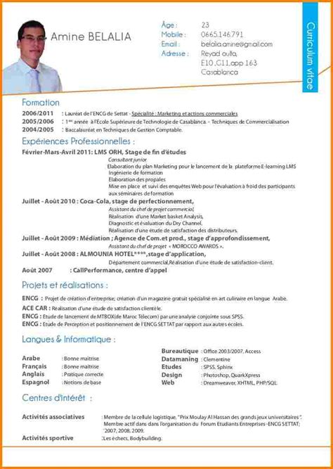 Cv In Commercial 9 exemple cv commercial modele lettre