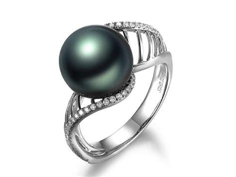 paulin tahitian pearl and ring tta34965u