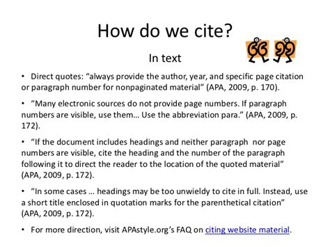 How Do You Cite A Website In An Essay by Cite It Right Advanced