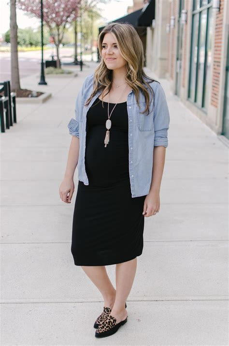Instead Of Reaching For The Same Lbd Stand Out In At Fetes In A Festive White Frock With Black Accents Fashiontribes Fashion by Bump Style Three Chambray Shirt Pregnancy By