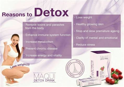 Maqui Detox Benefits by Formulated Maqui Detox 100 Drink 14s