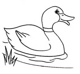 Duck Outline Printable by Free Printable Duck Coloring Pages For