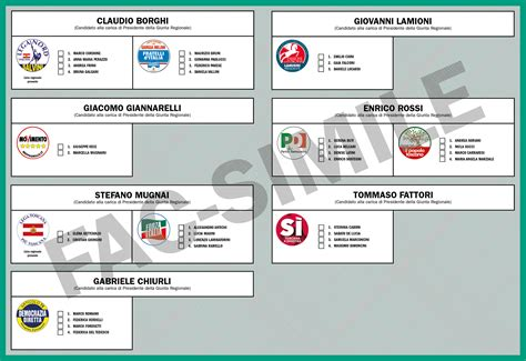 ufficio elettorale comune di firenze candidati presidente e liste comune di montespertoli
