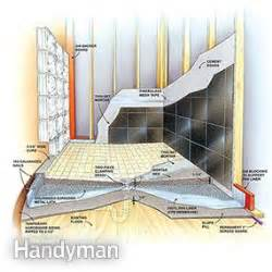 how to build a shower pan the family handyman shower