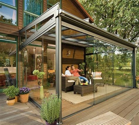 backyard sunroom glass patio sunroom green inspiration pinterest