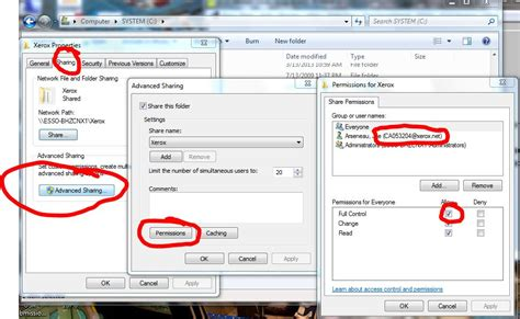 xerox workflow scanning setup solved wc 3655x and wc 7845 workflow fails login failure