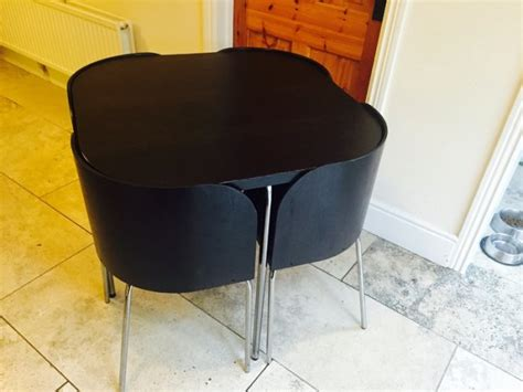 Ikea Fusion Dining Table Ikea Fusion 4 Place Dining Table And Chairs For Sale In Malahide Dublin From Kdwizzle