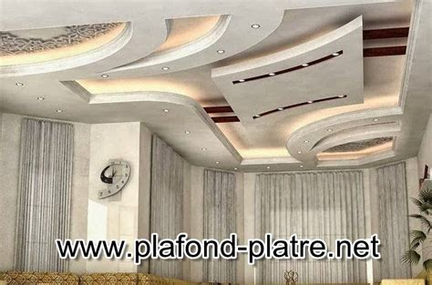 Plafond Platre Traditionnel by Faux Plafond Pl 226 Tre Style Marocain Traditionnel Plafond