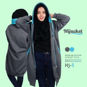 Jaket Hijabers Hijacket Hj 6 jaket muslimah syari murah bandung gaprel store 0812