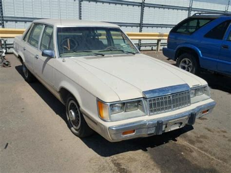 auto body repair training 1985 mercury marquis engine control auto auction ended on vin 1mebp8937fg646229 1985 mercury marquis in az phoenix