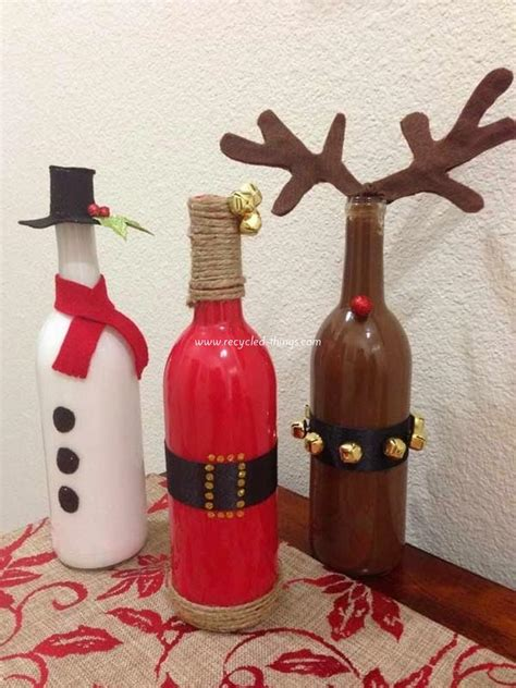 10 diy christmas decorating ideas recycled things