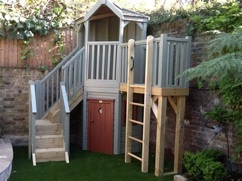 corner garden playstructure treehouses the playhouse