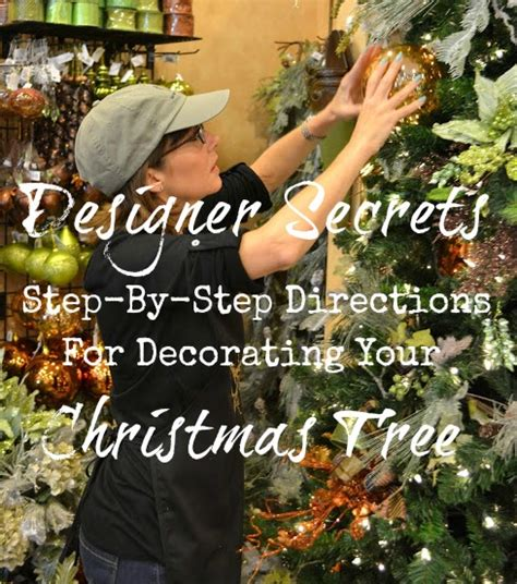 decorate your christmas tree like a professional the scoop 96 cedar hill farmhouse