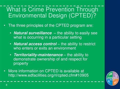 environmental design training ppt prevention mitigation emergency management for