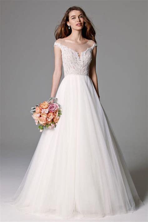 watters wedding dresses fall  collection modwedding