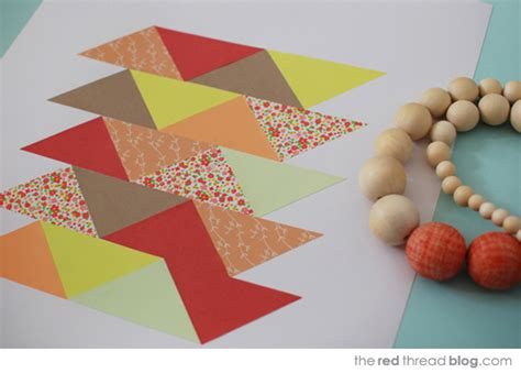 Patchwork Paper - make your own paper patchwork we are scout