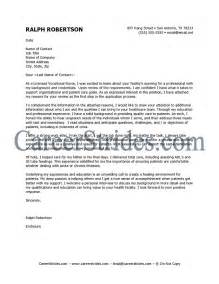 Nursing Cover Letters For Resumes Nurse Cover Letter Sample Example