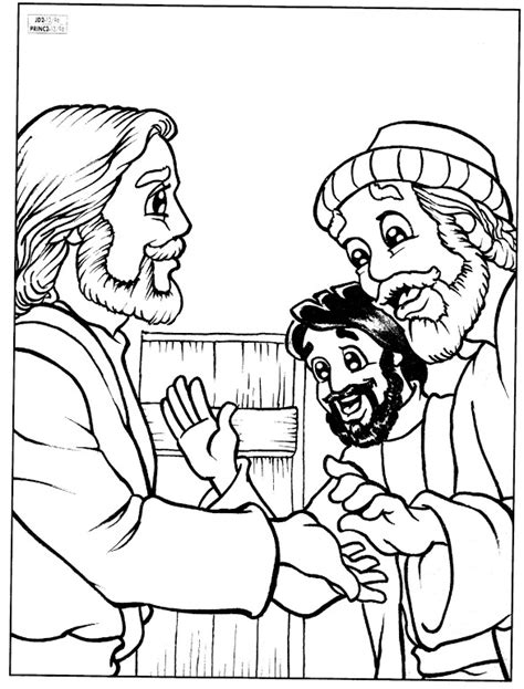 coloring page of jesus appears to his disciples the lord jesus and lord on