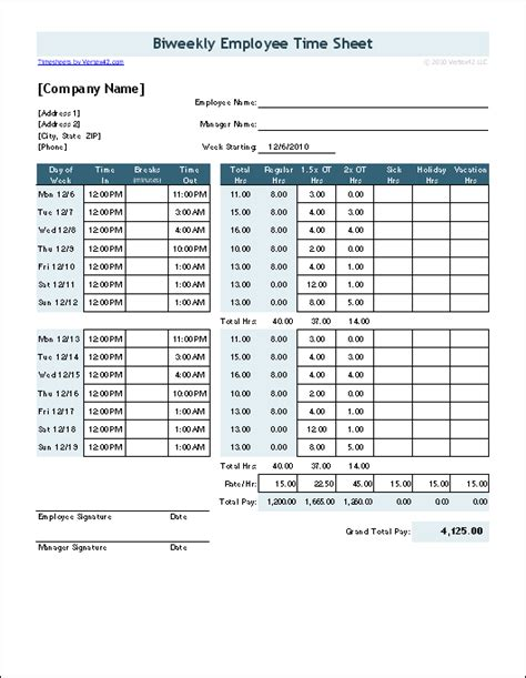 9 employee timesheet template nypd resume time sheet forms free