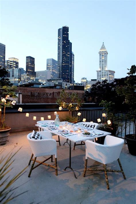 rooftop decorations 20 best rooftop dinner decorations home design and