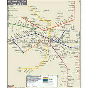 Delhi Metro Map by Buy Delhi Metro Map