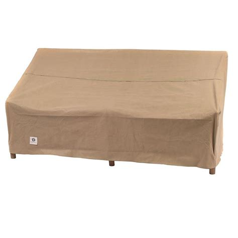 outdoor loveseat covers duck covers essential 70 in w patio loveseat cover