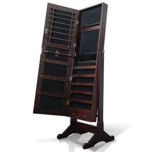 full length mirror jewellery cabinet australia buy mirror jewellery cabinet box full length wooden walnut