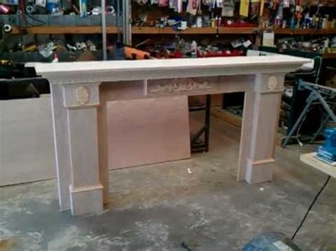 build your own fireplace surround how to build a fireplace mantel and surround 3 of 5