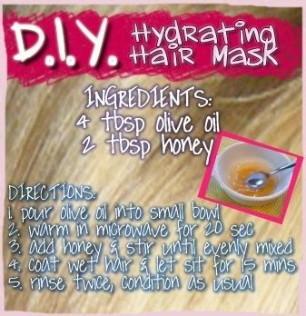 hydrating mask diy diy hydrating hair mask using only two ingredients you probably already in the pantry