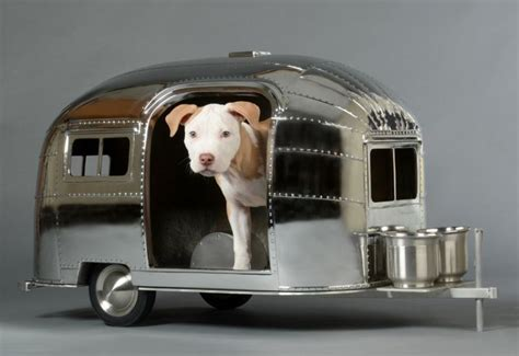 airstream dog house straightline design airstream doghouse um i want pinterest