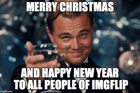 Merry Christmas Meme Generator - leonardo dicaprio cheers meme imgflip