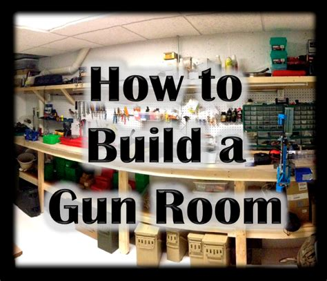 Basement Layouts How To Build A Gun Room In Your Home Heels And Handguns