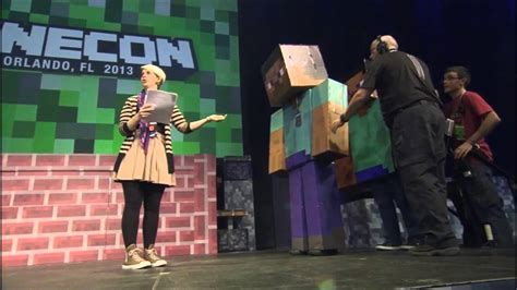 and the 2013 costume contest winners are minecon 2013 sneakpeak costume contest