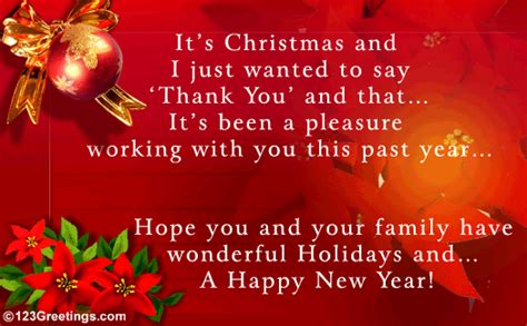 work related christmas message  holiday   ecards