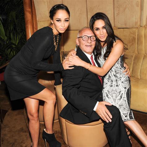 meghan markle max azria and cara santana at the