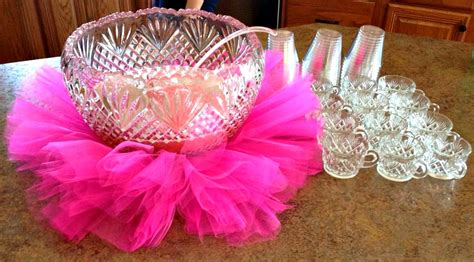 Tutu Decorations by Tulle Baby Shower Ideas Images