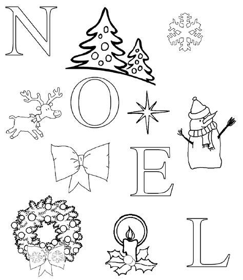 Coloriage De Noel by Coloriage De Noel A Imprimer