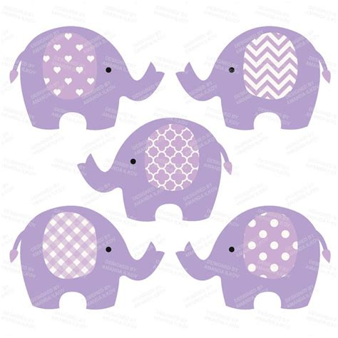 baby shower elephant clip purple clipart baby elephant pencil and in color purple