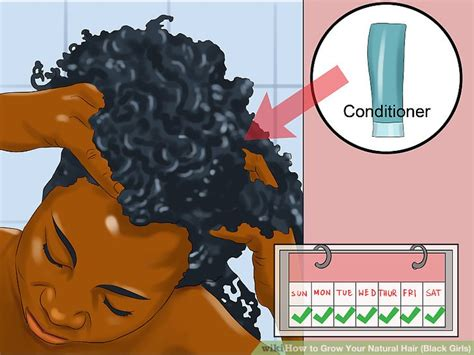 how to grow out of an african american pixie cut 4 ways to grow your natural hair black girls wikihow