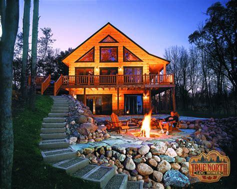 cabin log homes aspen viii log home plan by true log homes