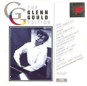 glenn gould no 8416748306 glenn gould berg křenek webern debussy ravel piano sonata op 1 piano sonata no 3