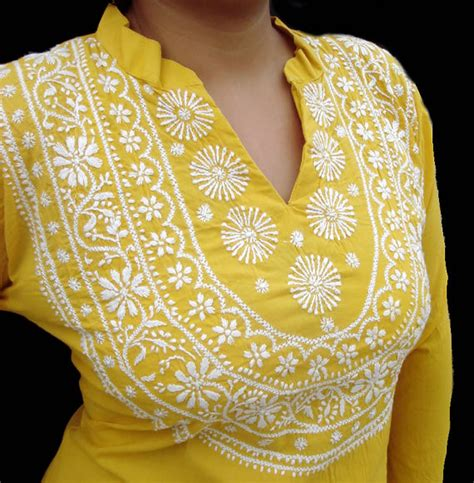 embroidery design on kurti hand machine embroidery designs for kurtis fashion trend