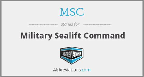 msc sealift command