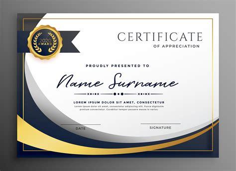 certificate  vector art   downloads